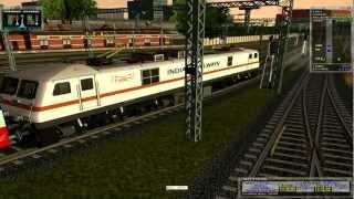 MSTS Train Simulator Andhra Pradesh express Indian Railways