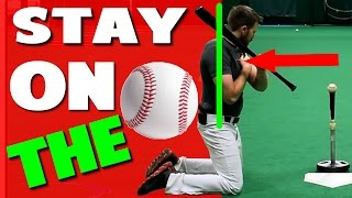 how to fix pulling off the ball   hitting drills pro speed baseball