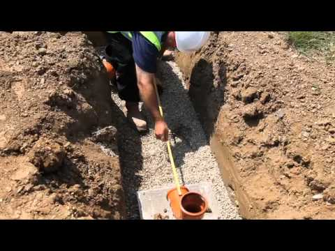 How To Install An Underground Drainage System With