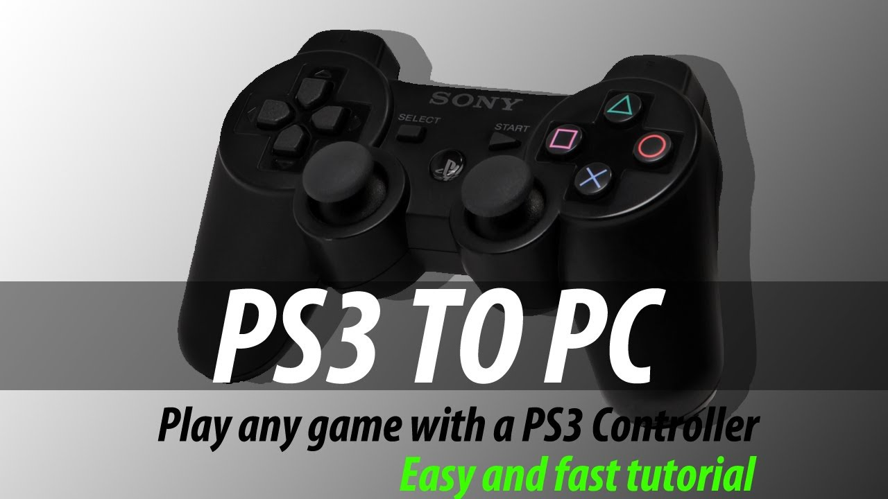 Play Minecraft With A PS3 Controller | Controller on PC Tutorials