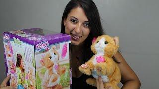 FurReal friends kitty la gattina daisy peluche giocattolo interattivo unboxing video per bambini