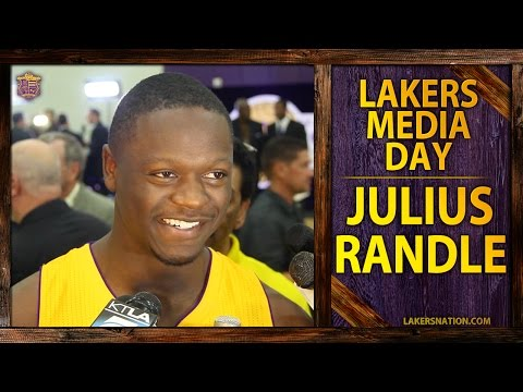 Lakers Media Day 2014: Julius Randle Talks Kobe Bryant, Carlos Boozer