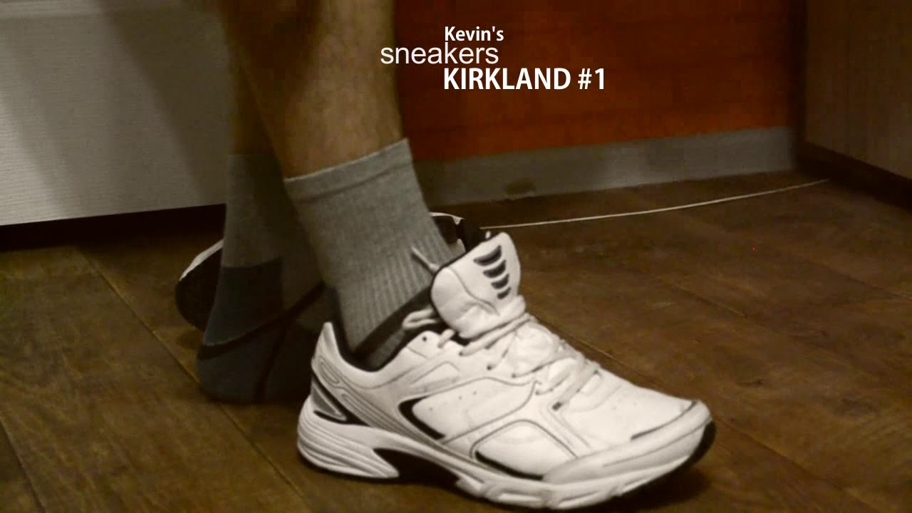 1a136b2111ce34 Sneakers on feet KIRKLAND  1 - YouTube