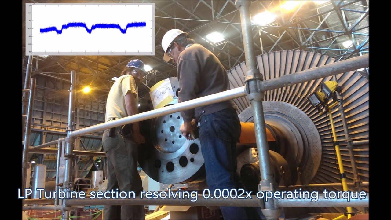 Steam Turbine Generator Monitoring Telemetry