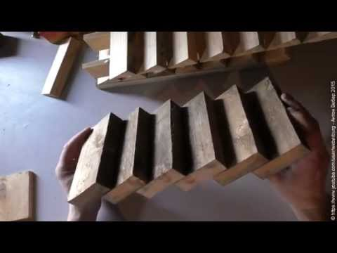 BC: Монолитные лестницы Ч.1 - Типы, размеры ступенек, расчет простого марша