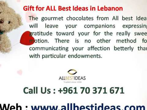Online Gifts and Flowers Delivery in Lebanon