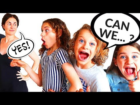 PARENTS CAN'T SAY NO!! KIDS IN CHARGE FOR 24 HOURS | The Norris Nuts