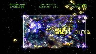 Geometry Wars Galaxies Wii gameplay