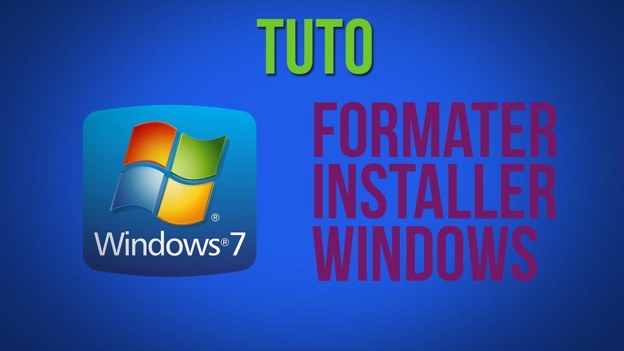 Comment formater son pc et réinstaller windows 7 | comment.