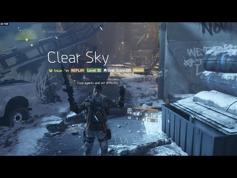 The Division | Heroic Clear Sky [Completed Solo]