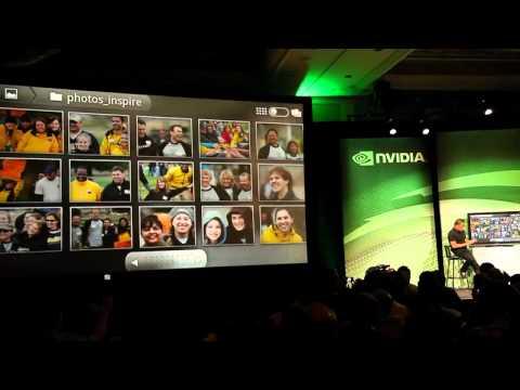 LG Optimus 2X (P990 Optimus Speed) auf der CES 2011 (720p)