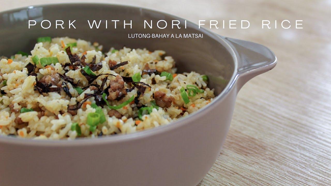 Nori Fried Rice Recipe