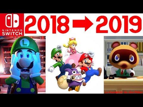 NINTENDO SWITCH : les jeux de 2019 et de fin d'année révélés! Luigi's Mansion 3, Animal Crossing...
