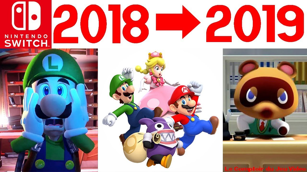 Calendrier Jeux Switch.Nintendo Switch Les Jeux De 2019 Et De Fin D Annee Reveles Luigi S Mansion 3 Animal Crossing