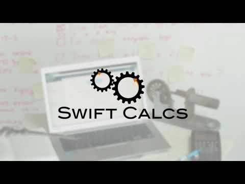 Swift Calcs Intro