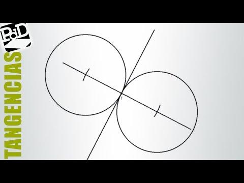 Circunferencia tangente a una recta por un punto y conocido el radio