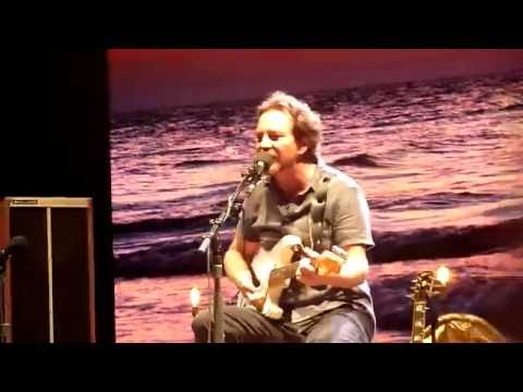 Eddie Vedder - Hard Sun (Aug 27, 2016)