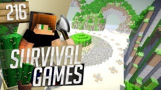 Minecraft: Survival Games! Ep. 216 - Time to Escape the Map!