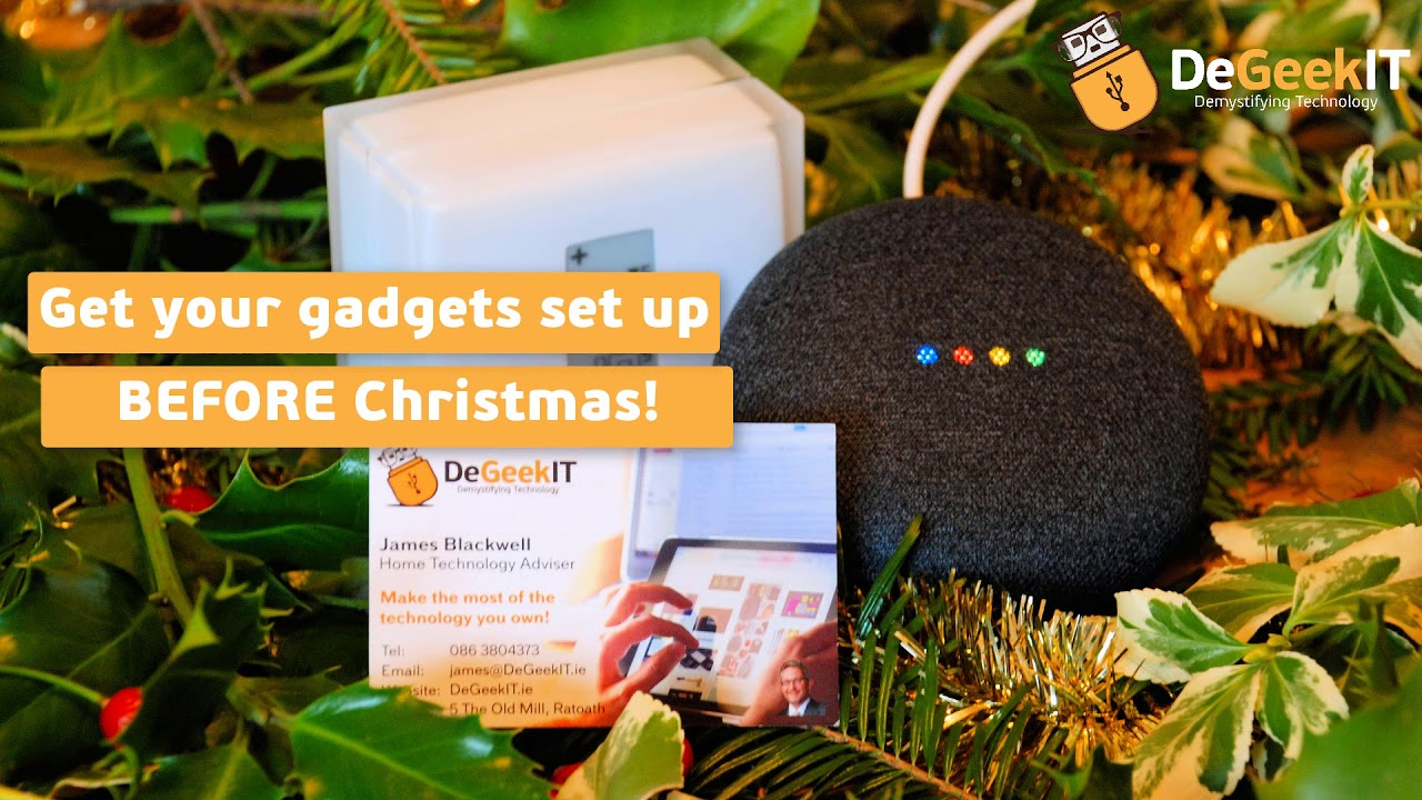 Introducing DeGeekIT - Home Technology Advice in Ratoath