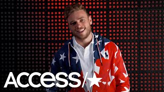 Gus Kenworthy Takes Jab At Mike Pence After Breaking His Thumb & Injures His Bum | Access