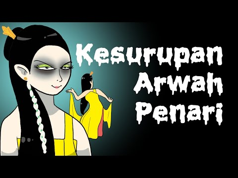 Kesurupan Arwah Penari - Animasi Horor Lucu Indonesia