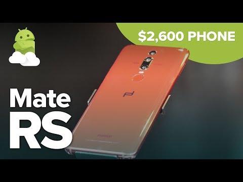 Porsche Design Huawei Mate RS: $2,600 Phone Hands-On
