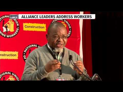 Gwede Mantashe addresses NUM CC
