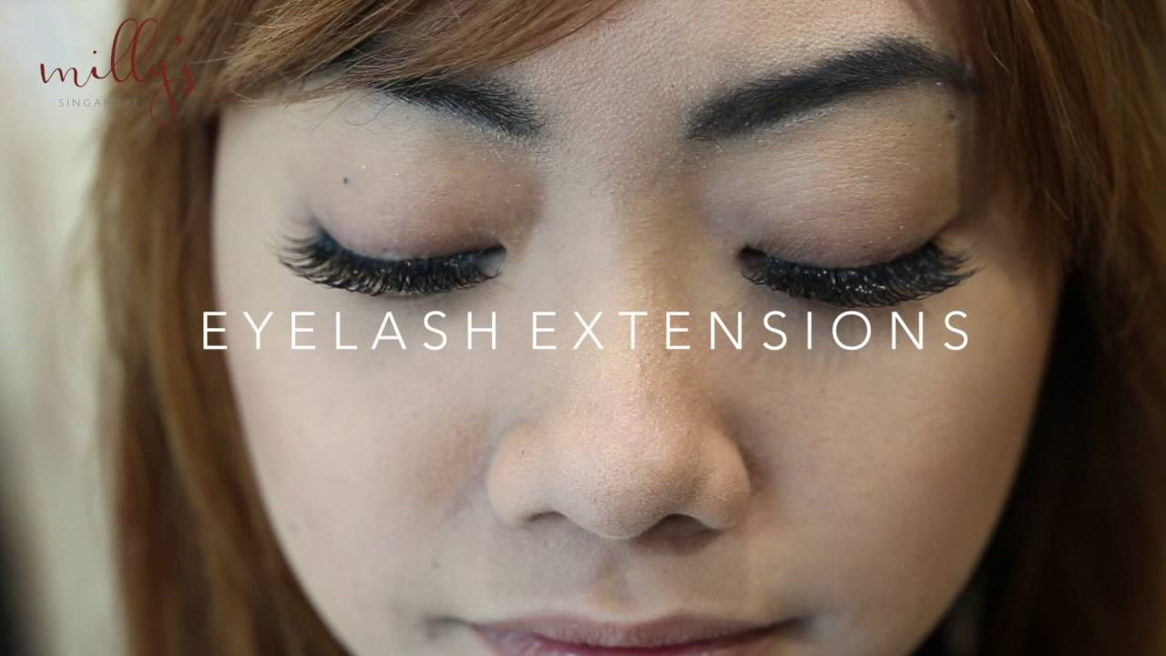 3d3f772ac3b Eyelash extensions may last from two weeks to two months, depending on the  cycle of hair growth.