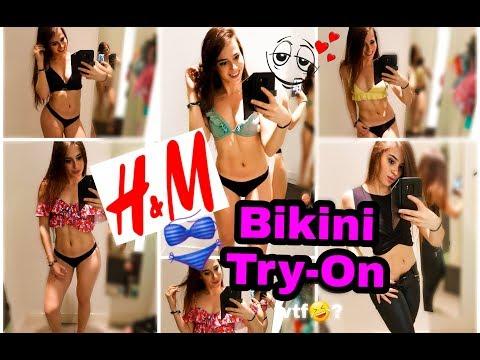 BIKINI/SWIMWEAR H&M Summer TryOn 2k18👙...