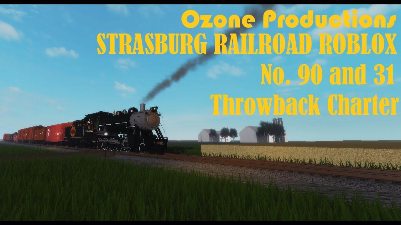 Csx Roblox Roblox Strasburg Railroad Throwback Charter Youtube