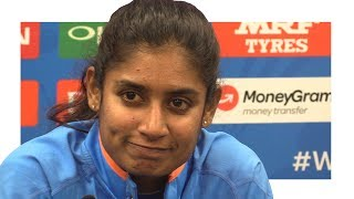 Mithali Raj Press Conference - India Miss Out On Women's World Cup After Final Loss