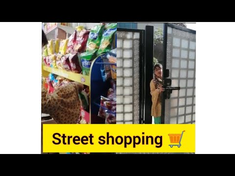 Street shopping with my Cousins   Visit At General store   Cheap Price Supermarket
