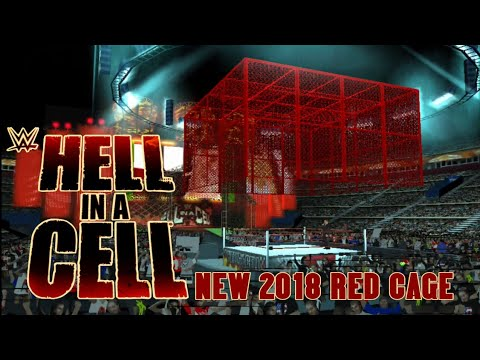 Svr11/19 New Hell in a Cell 2018 Red Cage permanent texture by Y A K|Link  in Description|