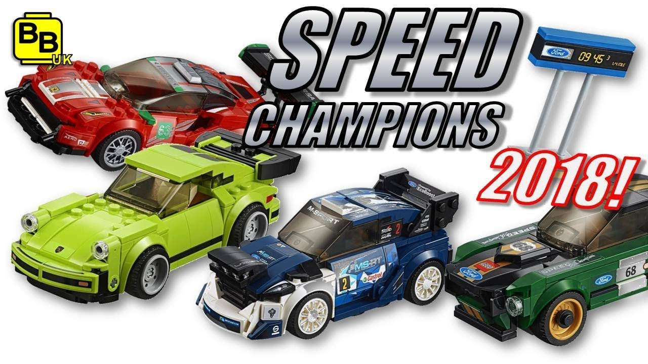 lego speed champions 2018 sets revealed youtube. Black Bedroom Furniture Sets. Home Design Ideas