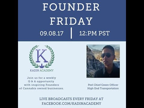 Kadin Academy Founder Friday with High End Transportation