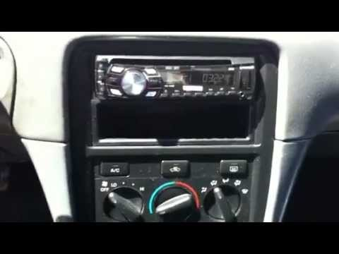 camry pioneer stereo install doovi. Black Bedroom Furniture Sets. Home Design Ideas
