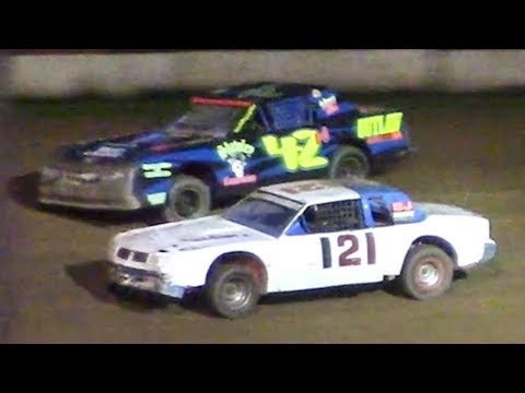 Pure Stock Feature   McKean County Family Raceway   7-3-18