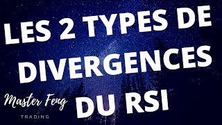 FORMATION TRADING COMMENT DETECTER LES 2 TYPES DE DIVERGENCES DU RSI
