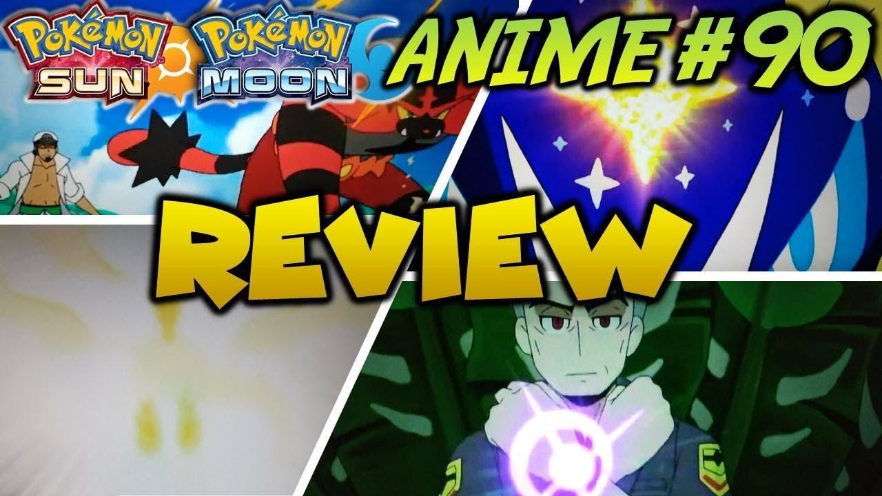 pokemon sun and moon episode 90