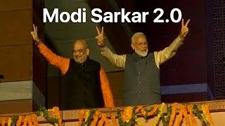 Lok Sabha Election Results 2019: Narendra Modi Again. NDA Wins Big; Congress Stunned