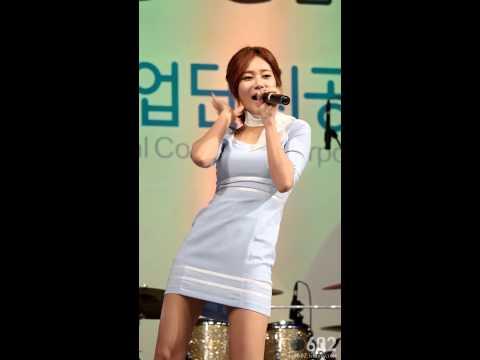 [직캠/Fancam]140915 G-Festival AOA 유나 단발머리