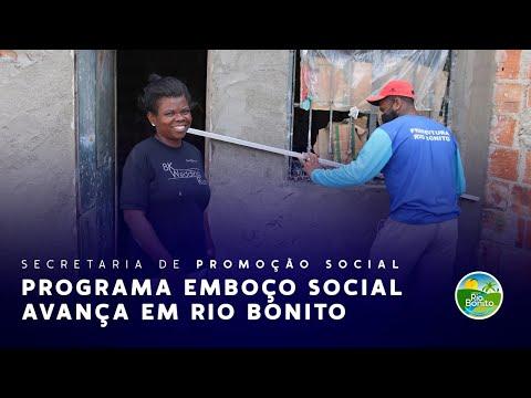PROGRAMA EMBOÇO SOCIAL AVANÇA EM RIO BONITO