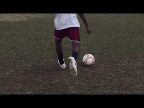 "Best soccer player at Cuba. Thandokuhle ""Keh"" Langa"