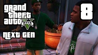 GTA 5 Next Gen Walkthrough Part 8 - Xbox One / PS4 - THE LONG STRETCH - Grand Theft Auto 5