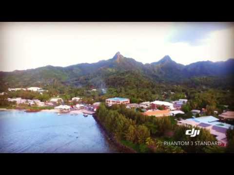 Avarua Cook Island DJI P3S