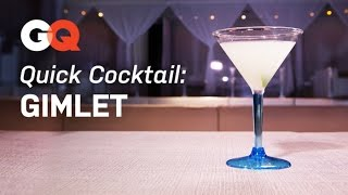 How To Make A Gimlet – Quick Cocktail – America's Bartender – Gq Magazine