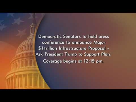 Dem Senators Announce Major Plan to Rebuild Roads, Bridges & Other Critical Infrastructure