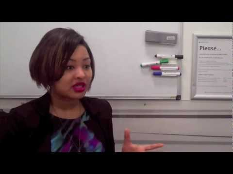 Winnie Oudemans, Barclays Human Resources advises youth on careers