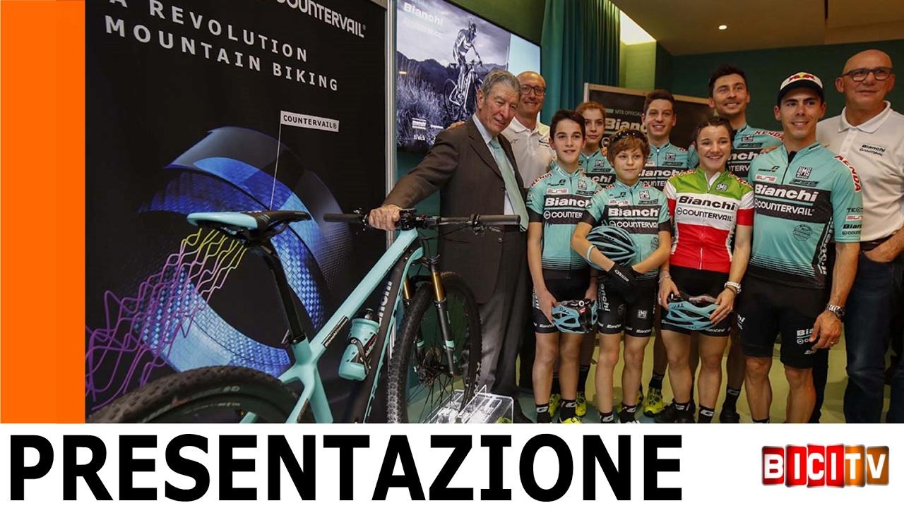Presentazione Team Bianchi Countervail 2017, parlano Fontana ...