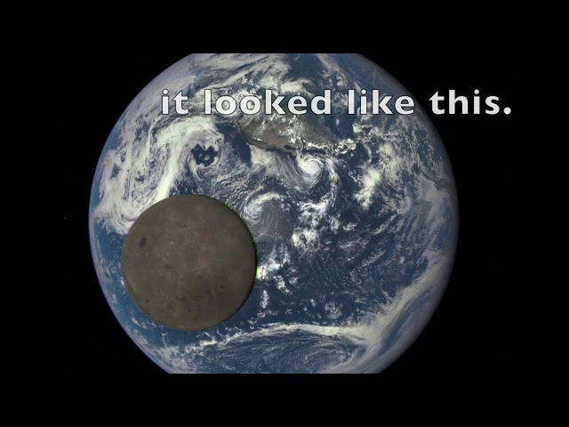 The Far Side of the Moon & Earth Lie